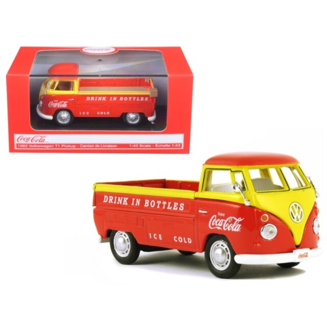 Coca-Cola /'62 Volkswagen Pickup BRAND NEW 1:43 Scale