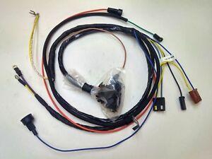 1967 67 chevelle el camino engine starter wiring harness. Black Bedroom Furniture Sets. Home Design Ideas