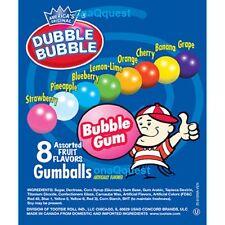 Dubble Bubble 850 Gumballs Vending Candy 1nom Gumball Assortd Fruit Bulk Double
