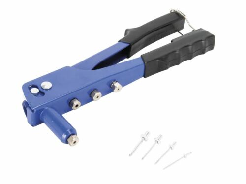 60 Rivets  Ø 2.4 à 4.8 mm  Riveteuse  Sertir 240 mm Pince à riveter  Aluminium