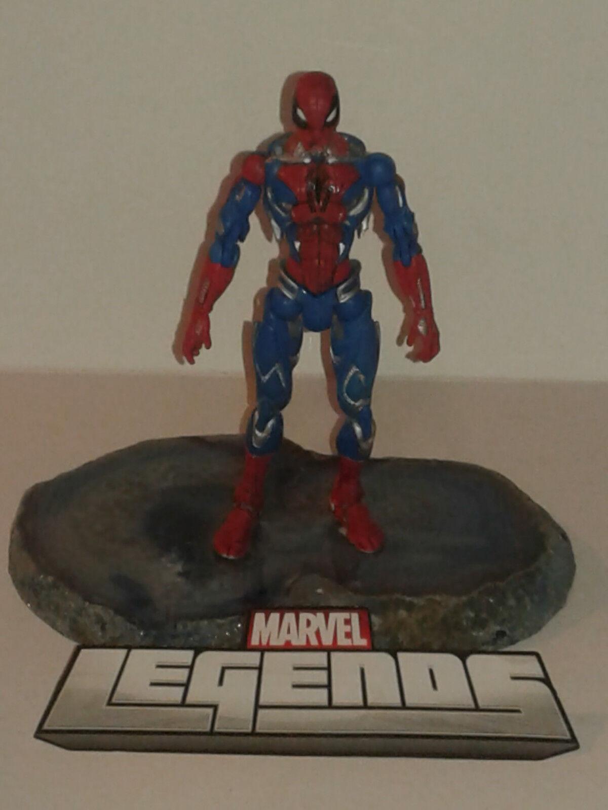 Marvel Legends 350 - CYBER SPIDER-MAN - Loose Figure RARE UNRELEASED PROTOTYPE