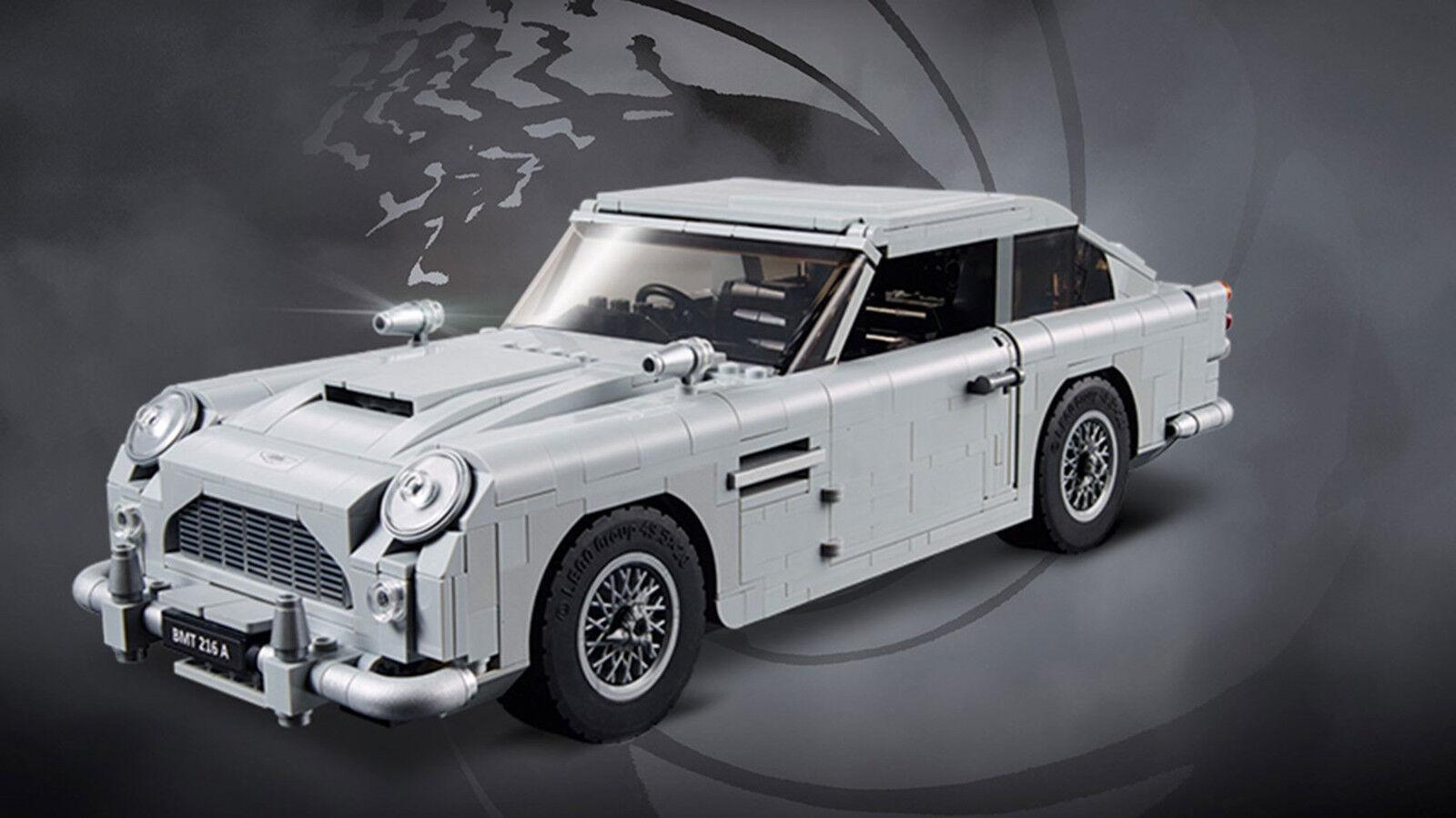 1450 pcs Creator Creator Creator  James Bond 007 Aston Martin Car building blokcs 05221c