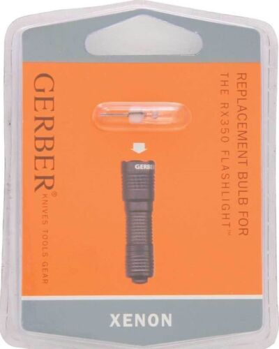 QUANTITY of 3 Gerber High Intensity Xenon Replacement Bulbs for RX350 Flashlight