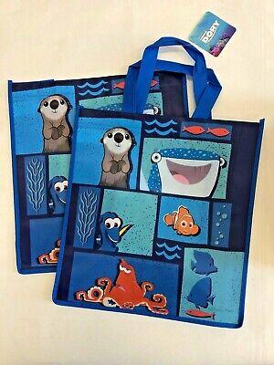 Set Of 2 Despicable Me Minions  reusable tote birthday book bag favor gift bag