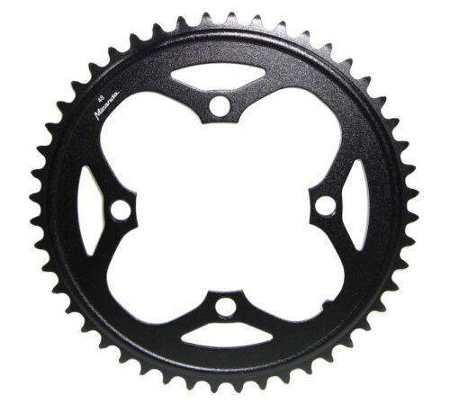 E-Bike Kettenblatt für Bosch Motor Gen1 S-Pedelec 2014,schwarz,48 Zähne,Alu