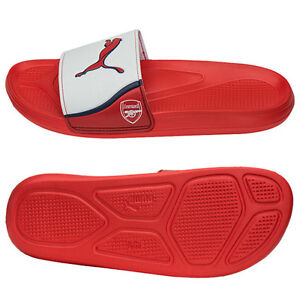 32d575bbc01 Image is loading Puma-Arsenal-Team-Cat-Slippers-Sandals-10345501-W-