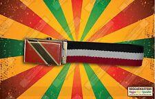 TRINIDAD Y TOBAGO Cinturón Reggae Rasta Caribe orgullo raíces & Cultura