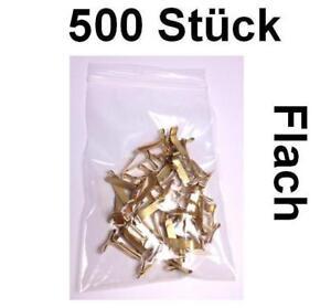 Flachkopfklammern Musterbeutelklammern Verschlußklammern Warensendung - 500