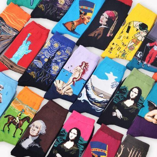 NEW Socks Retro New Art Van Gogh Mural World Famous Oil Painting Series ORIGINAL