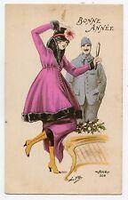 WW1. POILU. Charme patriotique. Patriotic Charm. BONNE ANNéE . HAPPY NEW YEAR