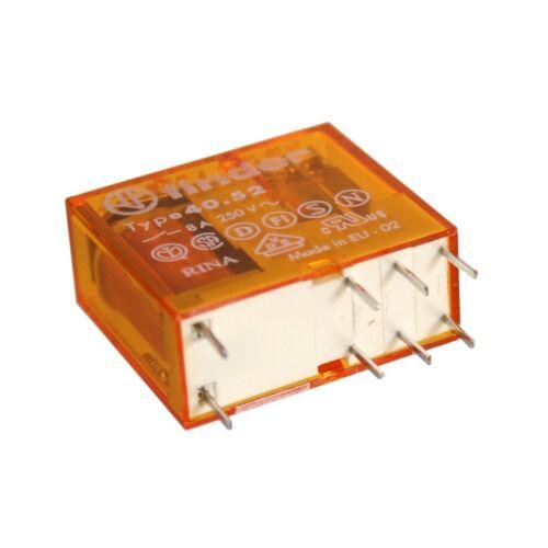 F4052-AC230G Steck-//Print-Relais 230V~ 2xUM 28000 Ohm 250V~//8A 40.52.8.230.5000