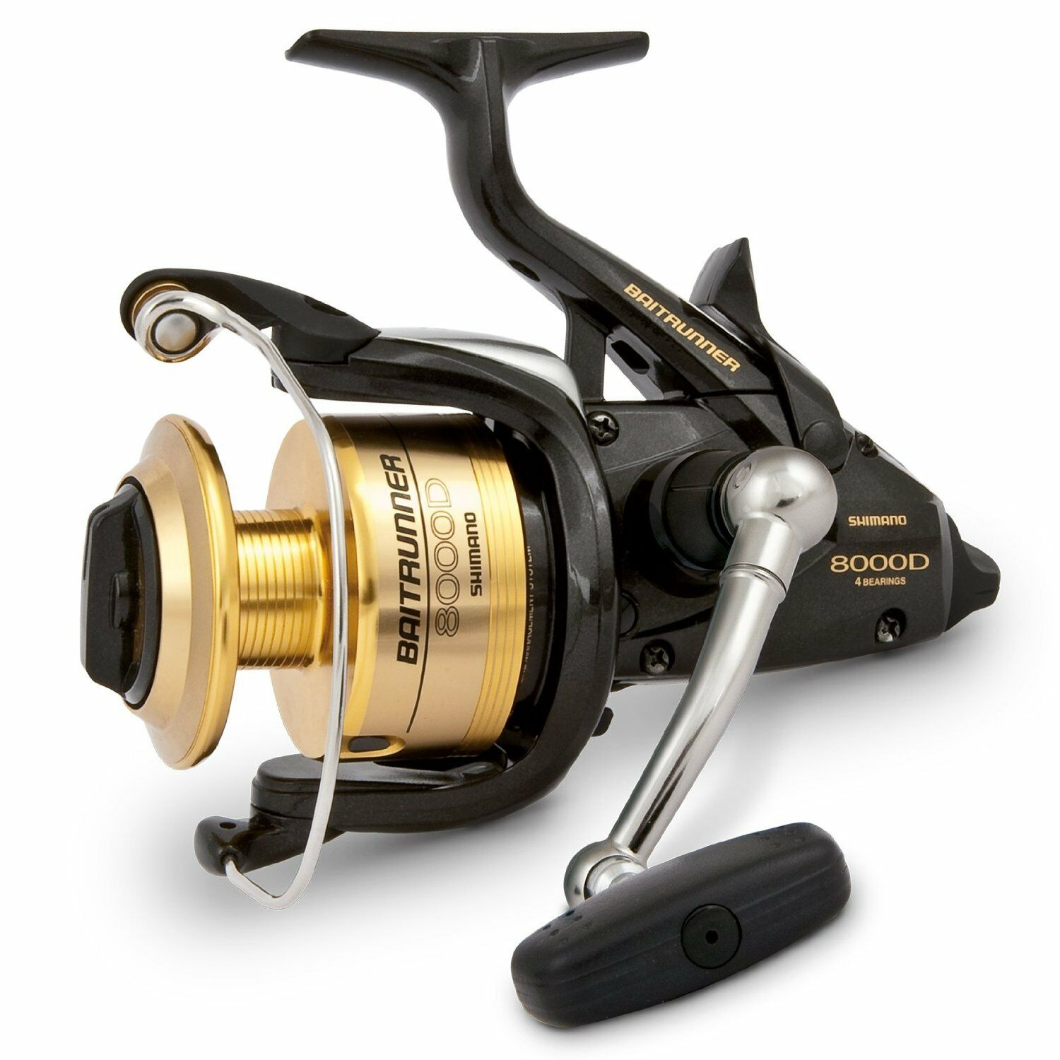 Shimano USA Baitrunner 6000D EUModell Freilaufrolle Frontbremse, BTR6000DEU
