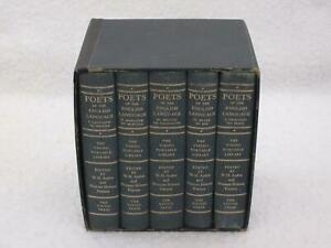 POETS-OF-THE-ENGLISH-LANGUAGE-Viking-Portable-Library-1-5-Slipcase