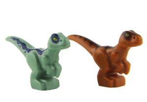 LEGO-Jurassic-World-Fallen-Kingdom-Baby-Brown-And-Green-Raptors-small