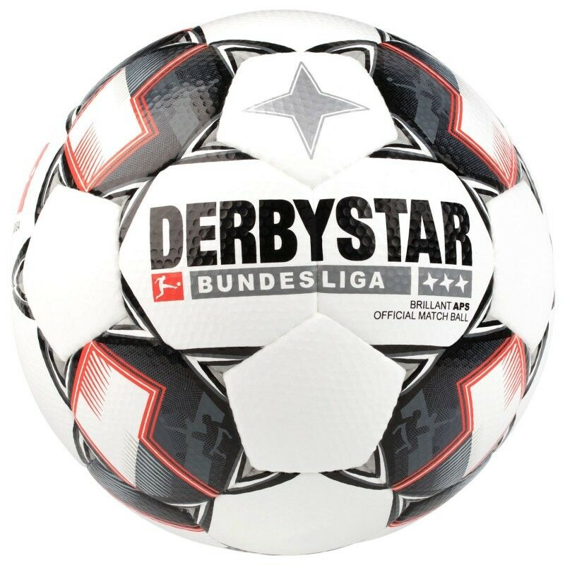Derbystar Derbystar Derbystar Bundesliga Brillant APS Matchball Fußball - Saison 2018 19 - NEUWARE e9da1f