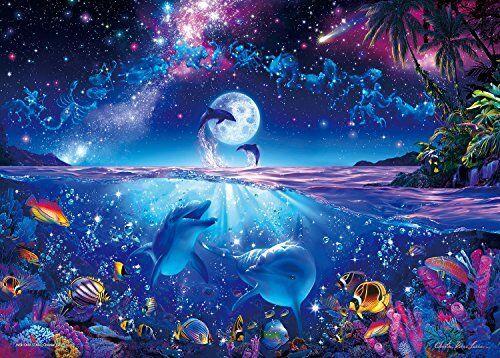 Epoch Jigsaw Puzzle Lassen wish upon a star 2000 pcs 38x53cm Luminescence 54-702
