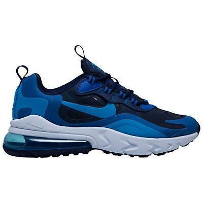 Junior Nike Air Max 270 React Blue Void Trainers BQ0103 400 | eBay