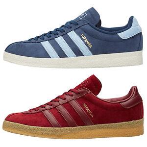 202ea8309ead9d Das Bild wird geladen adidas-Originals-Topanga-Maenner-Sneaker-Herren-Schuhe -Blau-