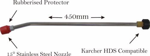 M22f Karcher Hd Y Hds Compatible Nieve Espuma Lance /& Angulado toman Lance