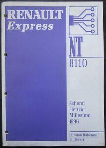 Schemi Elettrici Renault : Renault express manuale originale officina schemi elettrici modelli