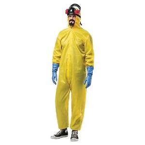 Adult Breaking Bad Hazmat Suit Costume by Rasta Imposta 4716
