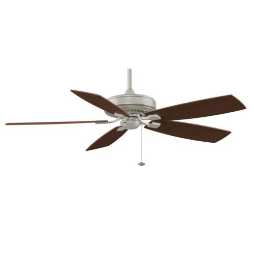Fanimation TF710SN Edgewood Deluxe 60 Inch Ceiling Fan Satin Nickel