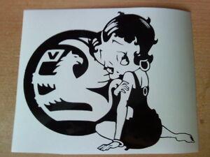 Betty-Boop-vauxhall-girls-sexy-vinyl-car-sticker-novelty-fun-decals-graphics-sri