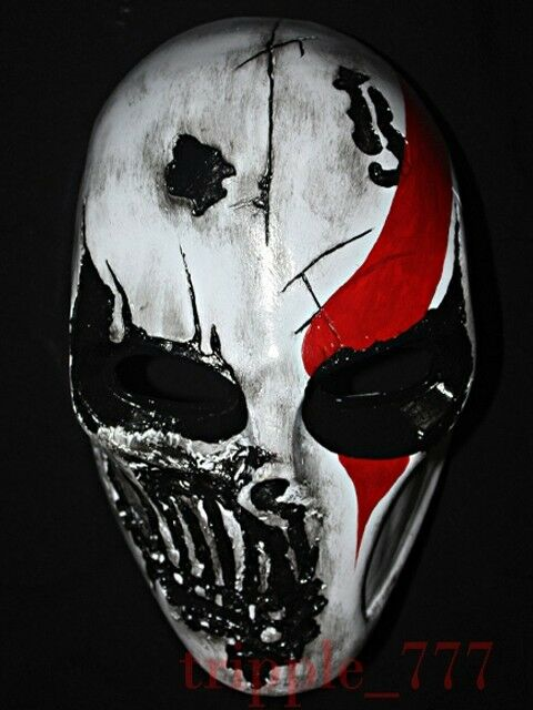 God Of War BB Gun Airsoft Paintball Mask Full Face Tactical Prossoective Dj MA107