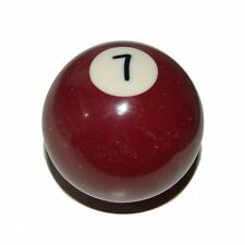 Pool Ball Gear Shift Knob Brown 7 Spot VW Golf Polo Jetta Caddy Mk1,2&3 GTI TDI