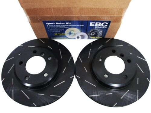 FRONT EBC USR7005 ULTIMAX USR SLOTTED SPORT BRAKE ROTORS