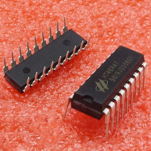 2PCS HT46R47 DIP Integrated Circuit Brand New
