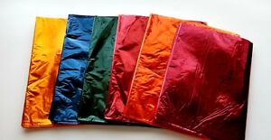 Details About 2 Plastic Colored Cellophane Wrapper For Yema Polvoron Tarts Or For Gifts