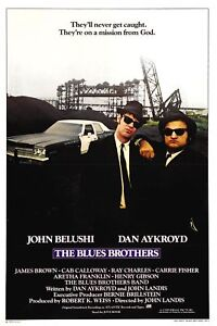 Blues-Brothers-35mm-Film-Cell-strip-very-Rare-var-e