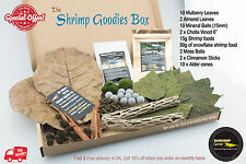 Mulberry Leaves Cholla Wood Mineral Ball Snowflake Shrimp Food - THE GOODIES BOX