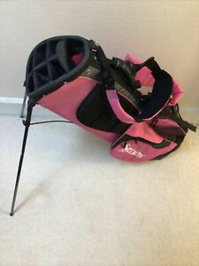 Srixon Ladies Stand Golf Bag Pink 2006 7-Way Divider 7 Pockets