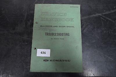 Business & Industrie Gehorsam B436 Komatsu Service-handbuch Für Bulldozer And Dozer Shovel PüNktliches Timing