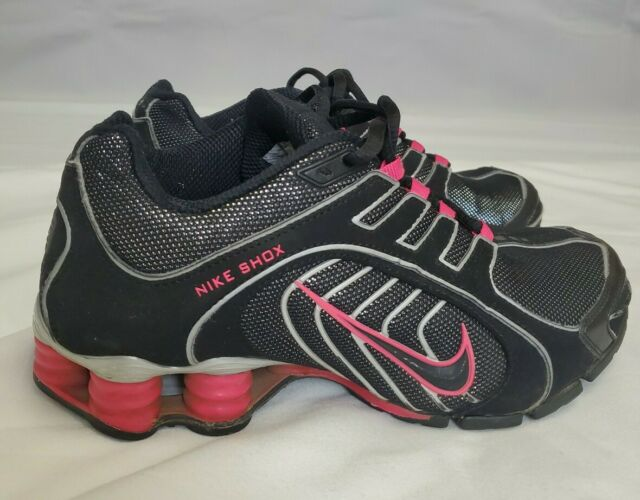 Nike Shox Navina Womens Size 6 Black