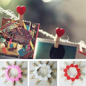 10-50-100Pcs-Wooden-Mini-Clip-Wood-Pegs-Kid-Crafts-Party-Favor-Supply-35mm-Heart