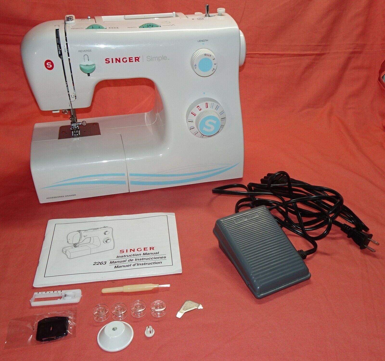 s l1600 - SINGER SIMPLE SEWING MACHINE = MODEL 50T8 E99670