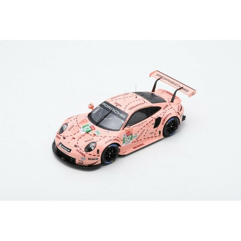 1 18 PORSCHE 911 RSR N°92 1er LMGTE Pro 24H Le Mans 2018 Christensen-Estre-Vanth
