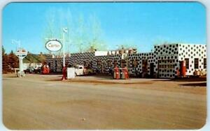 Gas Station Around Me >> Buffalo Wyoming Wy Roadside Alabam S Gas Station Ca 1950s 60s