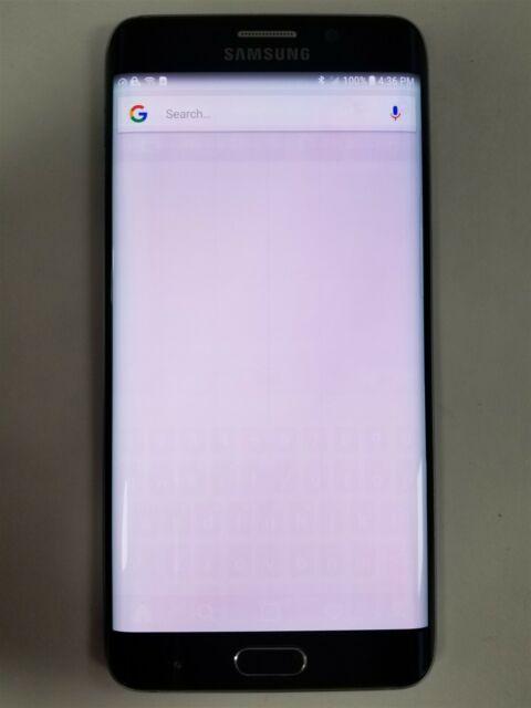 Samsung Galaxy S6 Edge+ 32GB Black SM-G928 (Verizon) Great Phone Discount MW1777