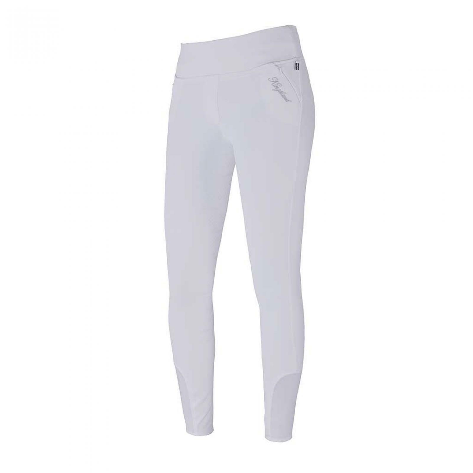 Kingsland Katja pull-on-pantalones con pleno-grip, E-TEC blancoo s19
