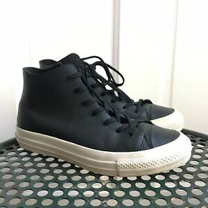 Details about Converse Chuck Taylor Star Prime Hi Leather 154836C Size 5.5 Men's Or 7.5 Women'