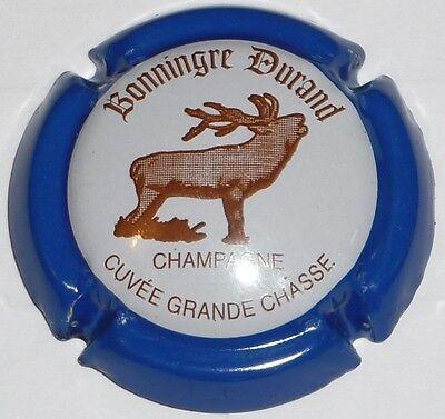 n°14a Cuvée Grande Chasse Capsule de Champagne:  Extra !! BONNINGRE DURAND