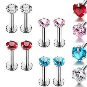 Body Piercing Jewelry Fashion Jewelry Labret Monroe Lip Bar Tragus Cartilage Helix Ear Ring Stud Upper Ear Piercing