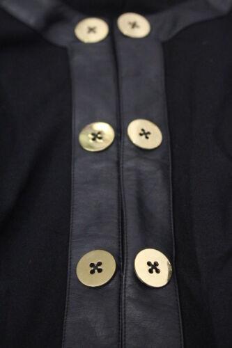 M Cabi W Donna oro taglia Fitted Blazer Decor Tone Button b132 Black wTqR41