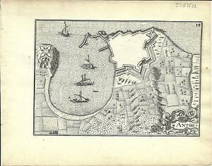 Antique-map-Antibes