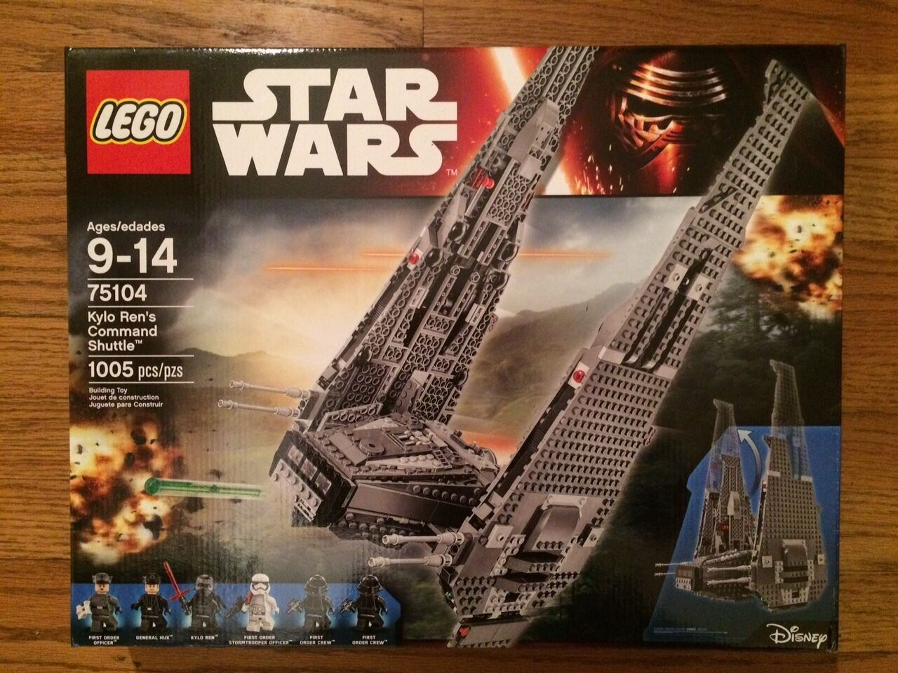 LEGO 75104 Kylo Ren's Command Shuttle Star Wars series New in sealed box