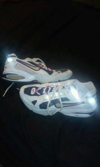 RARE VINTAGE Collector Nike Triax Womens Size 9 Shoes used pink n dark purple